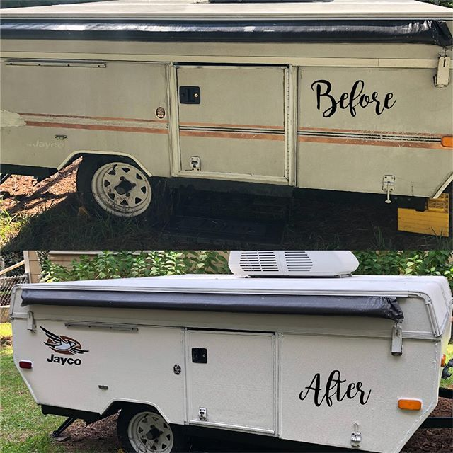 Pop Up Camper Diy Guide Peggy Sue Got Painted Pop Up Camper
