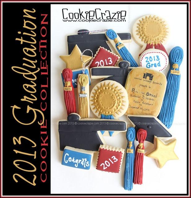 CookieCrazie: 2013 Graduation Cookie Collection
