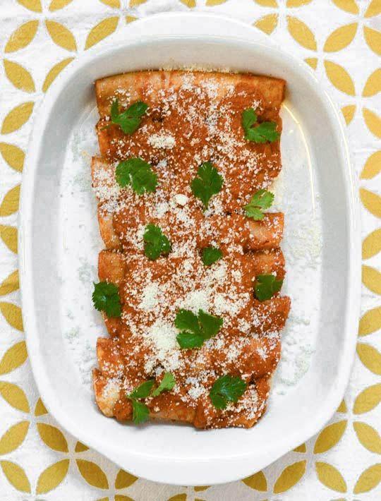 enchiladas de pipián rojo - looks delish!