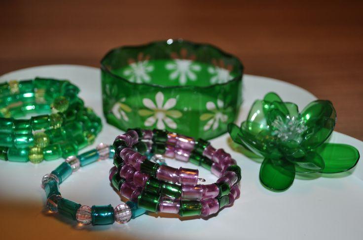 PET bottle jewelry