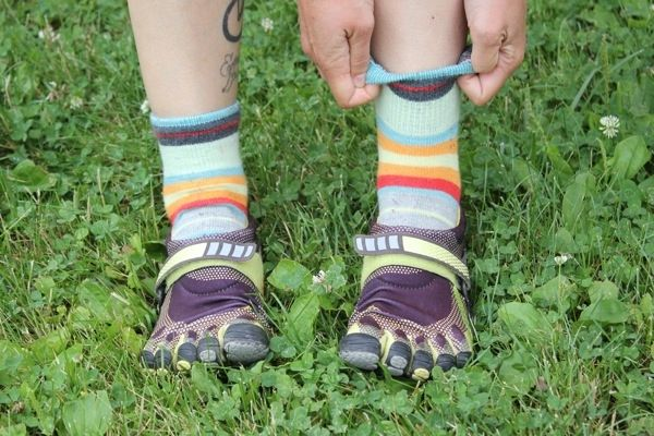 Top 10 Running Fashion Faux Pas - #1 Toe shoes with socks | Runner's World