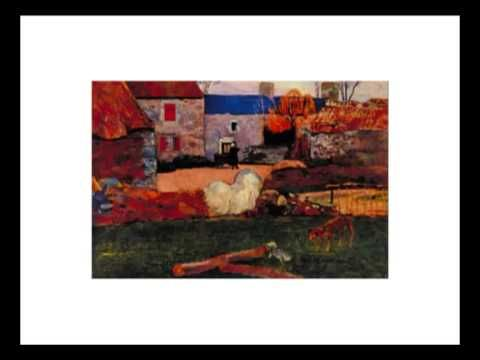 Bits de obras de arte de Gaughin en español