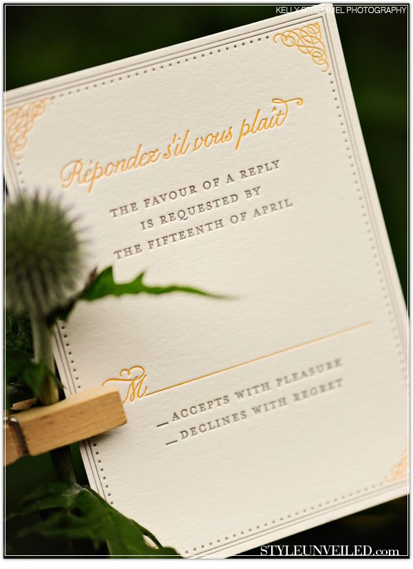 such cute wording for the rsvp card