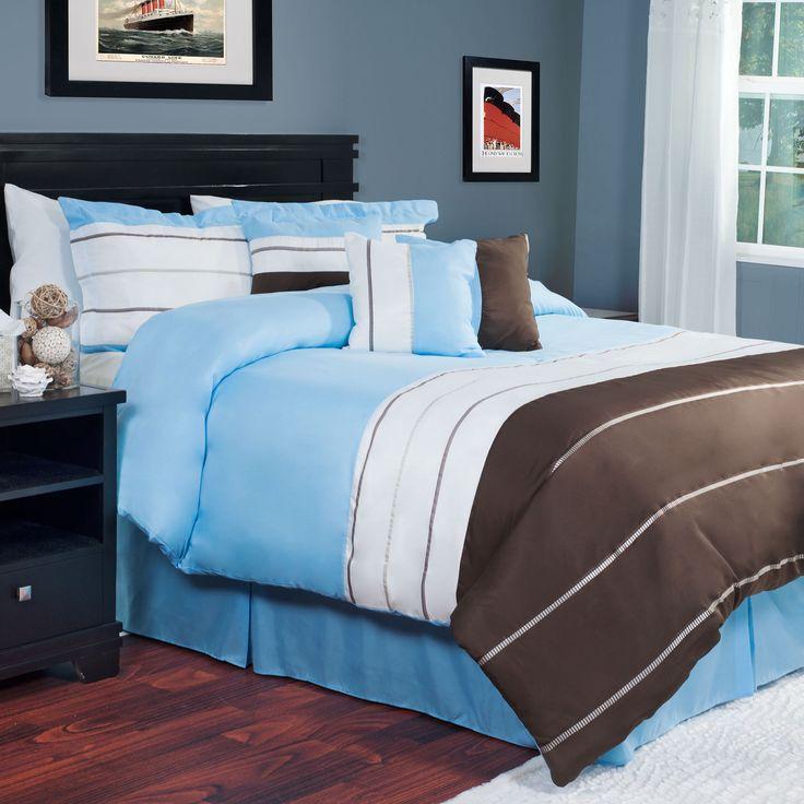 Trademark Windsor Home Taylor 7-piece Queen Size Comforter Set