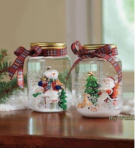 Decoraciones navide as navide o pinterest navidad - Decoraciones navidenas manualidades ...