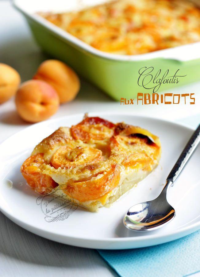 Clafoutis abricot et fleur d'oranger