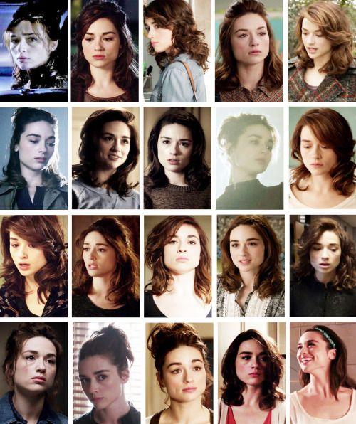 Allison Argent's season 3a hairstyles