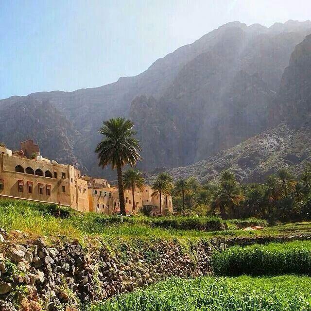 Beautiful Village. OMAN