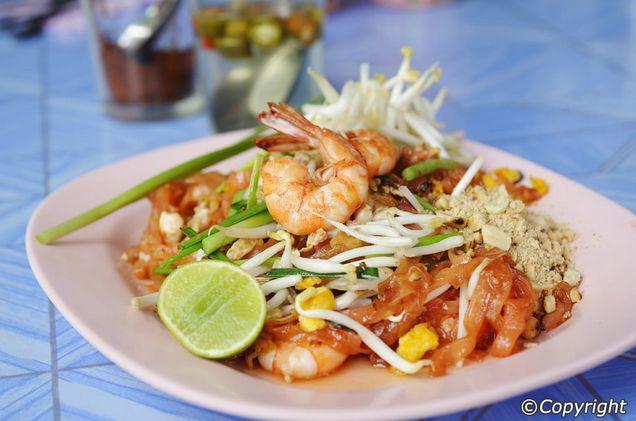 Phad Thai (Fried Kuey Teow)