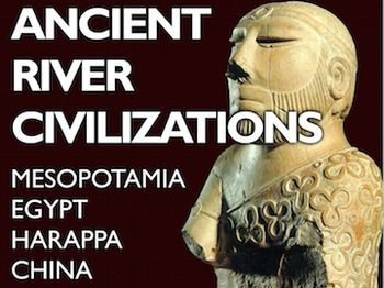 Early River Civilizations Powerpoint w/Video+Presenter Notes covers the first four civilizations that former around fertile river plains, It covers the civilizations of Mesopotamia, Egypt, Indus River Valley/Harappa, and China beginning with the Shang Dynasty.This 38 slide Powerpoint includes engaging video clips and presenter notes that aid your understanding of each slide and can act as a cheat sheet for details you may forget.