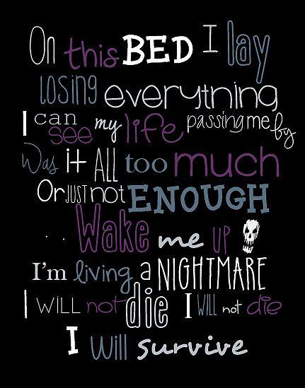 Time Of Dying Three Days Grace lyrics