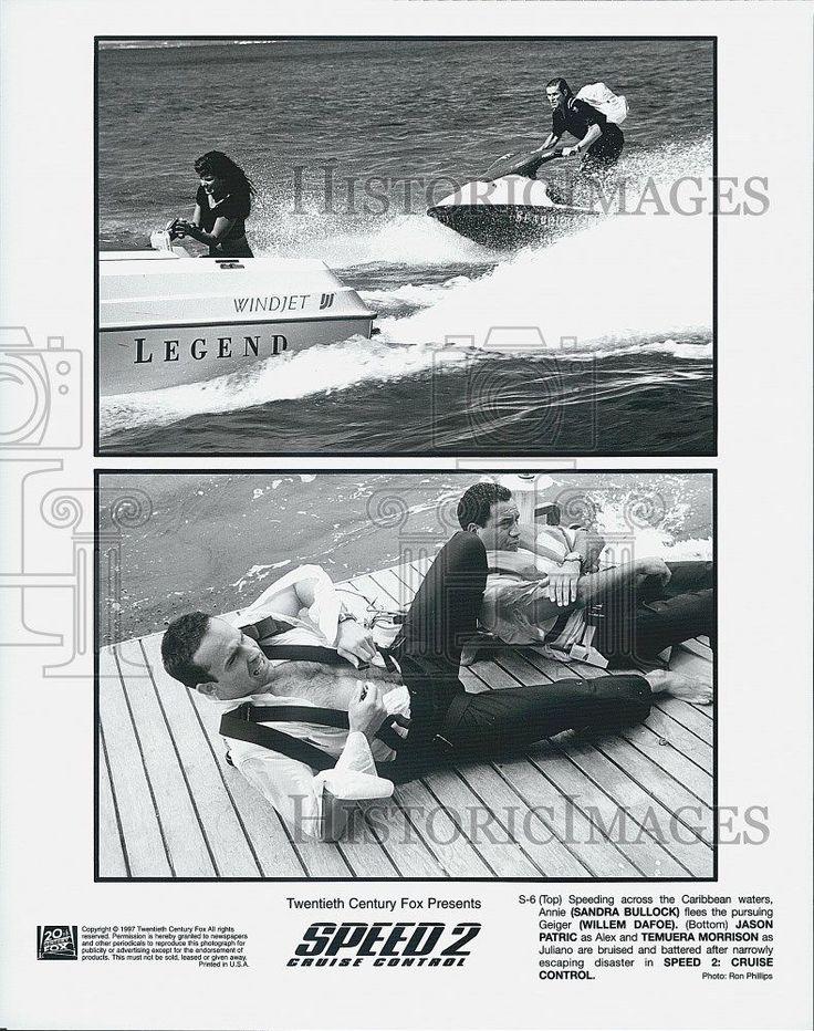 "1997 Press Photo ""Speed 2 Cruise Control""Sandra Bullock Jason Patric"