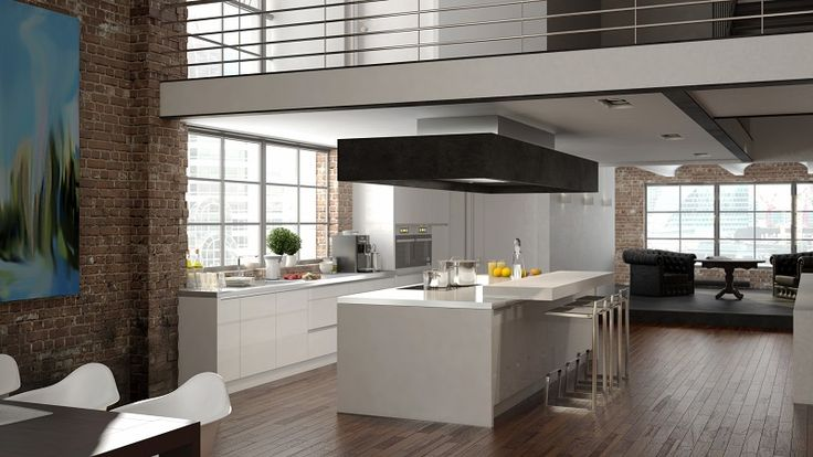 Choose laminates for flooring for kitchen and give a new look to your kitchen.  #laminateflooring