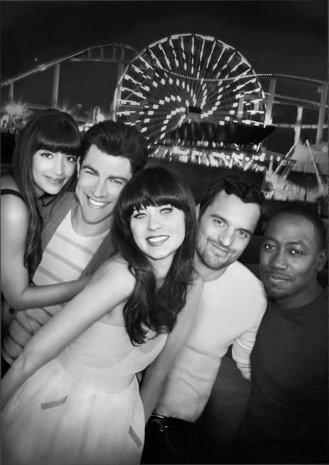 New Girl cast (My new all-time favorite show) -I wanted to pin some great quotes but I seriously couldn't pick or choose!!