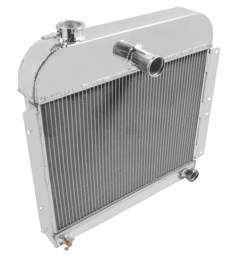 Champion Three Row All Aluminum Radiator for Willys Jeeps Trucks and Wagons CC5241