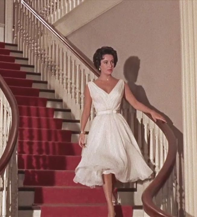 Getting into Costume: A Starlet's Wardrobe Basics- Elizabeth Taylor's dress in Cat on a Hot Tin Roof