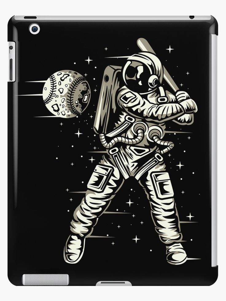 Space Baseball Astronaut • Also buy this artwork on phone cases, apparel, stickers, and more.