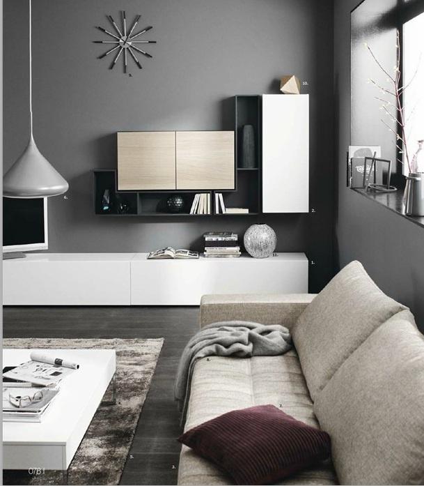 Sala repisas living room BoConcept