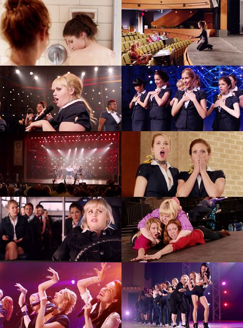 Pitch Perfect. I've watched this movie 3 times in the last 24 hrs. it is fantastic and hilarious.