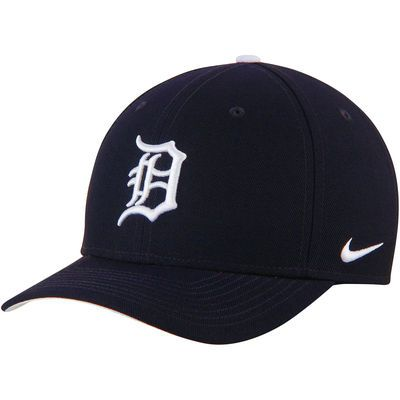 Detroit Tigers Nike Wool Classic Adjustable Performance Hat - Navy