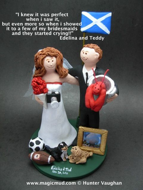 Lobster Lovers Wedding Cake Topper http://www.magicmud.com   1 800 231 9814  magicmud@magicmud.com $235  https://twitter.com/caketoppers         https://www.facebook.com/PersonalizedWeddingCakeToppers   #wedding #cake #toppers #custom #personalized #Groom #bride #anniversary #birthday#weddingcaketoppers#cake-toppers#figurine#gift#wedding-cake-toppers #flag#country#flags#pennant#countryFlag#team#university#country-of-origin#USA-flag#old-glory#stars-and-stripes#national-flag#canadaFlag
