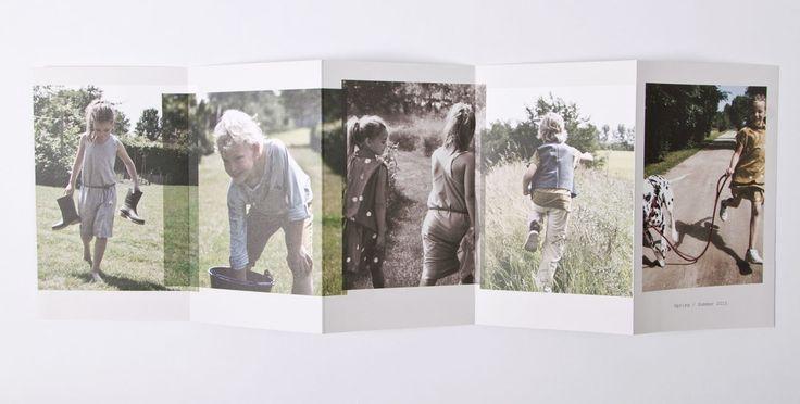 Lookbook ontwerp voor de collectie spring-Summer 2015 van JETPAQ