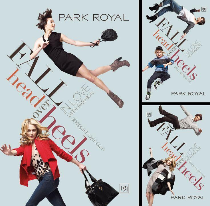 Park Royal - Spring Fashion 2012 #graphicdesign #vancouver #branding #advertisement #print #marketing #brand #brandidentity