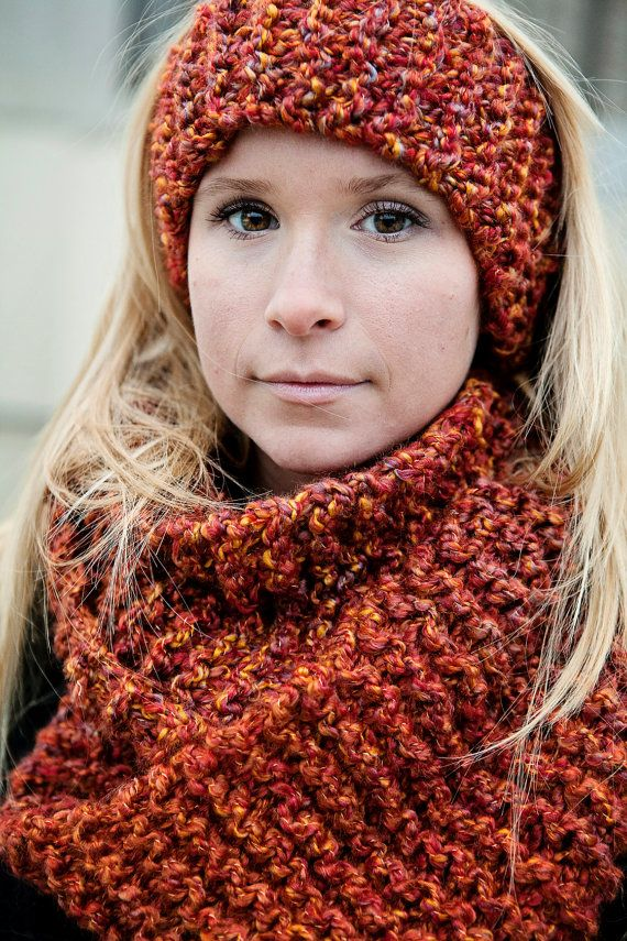 Digital Download of our Quick and Easy Infinity Scarf KNITTING Pattern immedi...