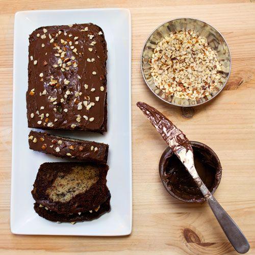 Nutella Banana Bread   Baked Goods, Sweets & Treats   Pinterest
