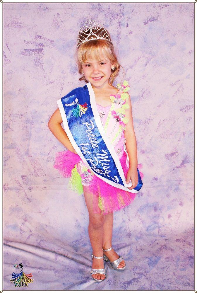 Petite Miss RSA 2015 - 1st Princess Gwendeleen Jooste