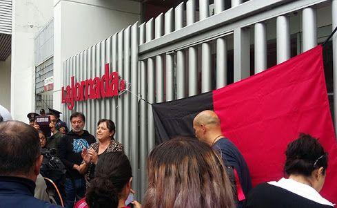 SINDICATO DE LA JORNADA PIDE INTERVENCIÓN DE MIGUEL ÁNGEL MANCERA