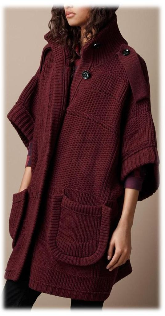 Burgundy♥Oxblood♥ Burberry...I told you.. Makes me drool!!