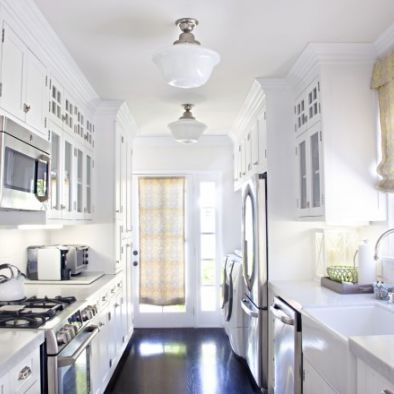 Best 10 white galley kitchens ideas on pinterest galley for Galley kitchen update ideas