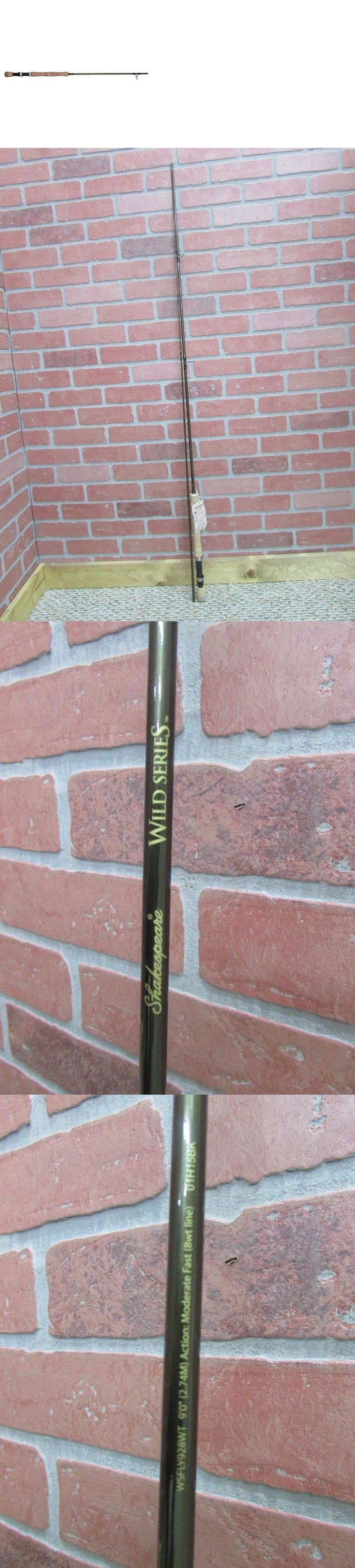 Fly Fishing Rods 23819: Shakespeare Wild 8Wt Fly Rod ~ 2-Piece ~ 9-Feet ~ New ~ Free Shipping BUY IT NOW ONLY: $36.95