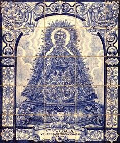 Azulejo Virgen de Gracia