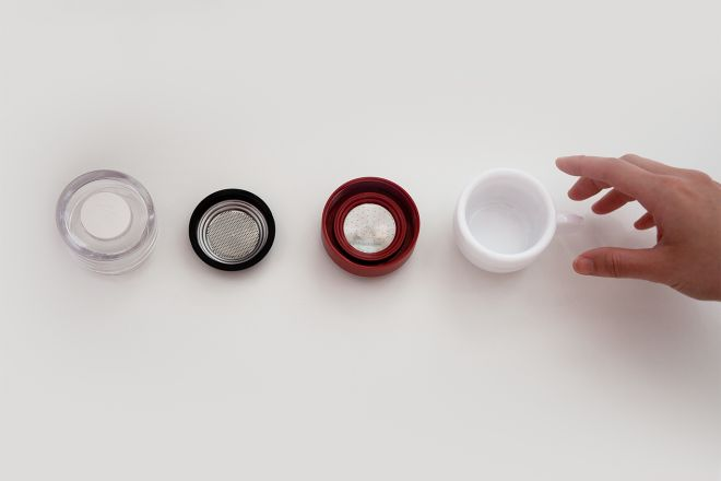 Мини эспрессо-машина для микроволновки