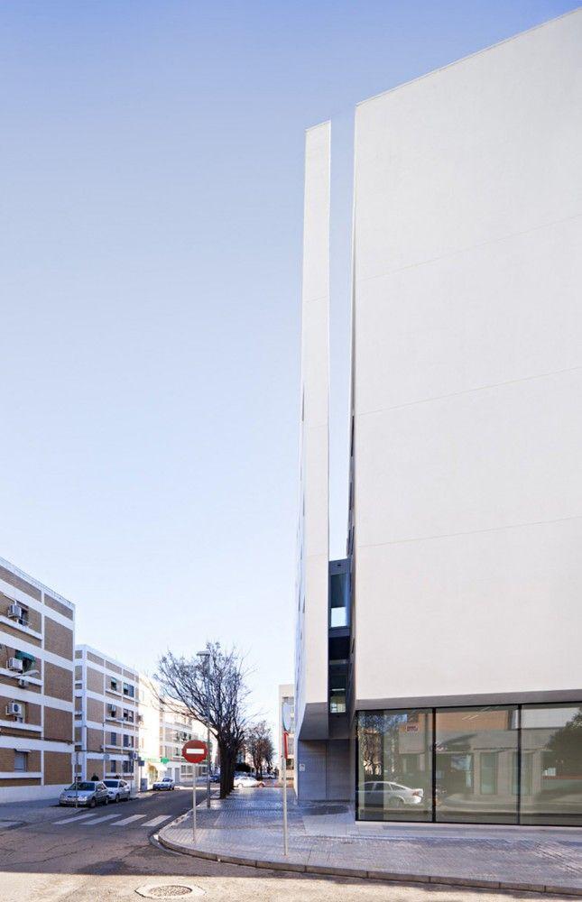 University of Cordoba, Education Center by Rafael de La-Hoz