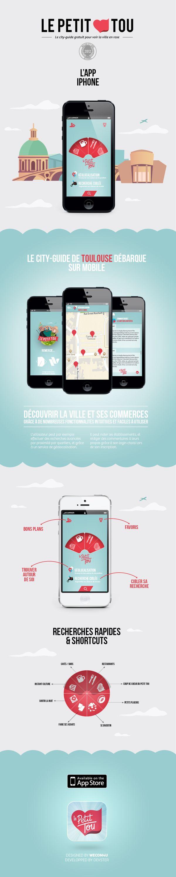 The small tou / #App #Design #UI #UX