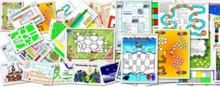 Basiowe Gry Planszowe to darmowe gry planszowe dla młodszych dzieci. Po prostu pobierz ... wydrukuj ... zagraj
