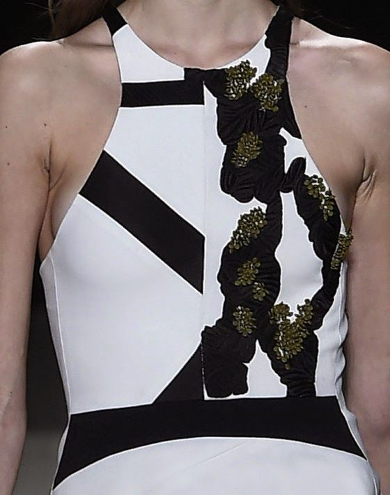 patternprints journal: PRINTS, PATTERNS, TEXTURES AND TEXTILE SURFACES FROM NEW YORK FASHION WEEK (WOMENSWEAR F/W 2015-16) / Narciso Rodriguez