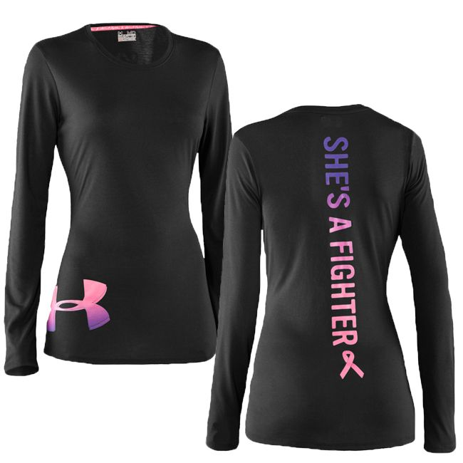 Womens Under Armour PIP Fighter Longsleeve