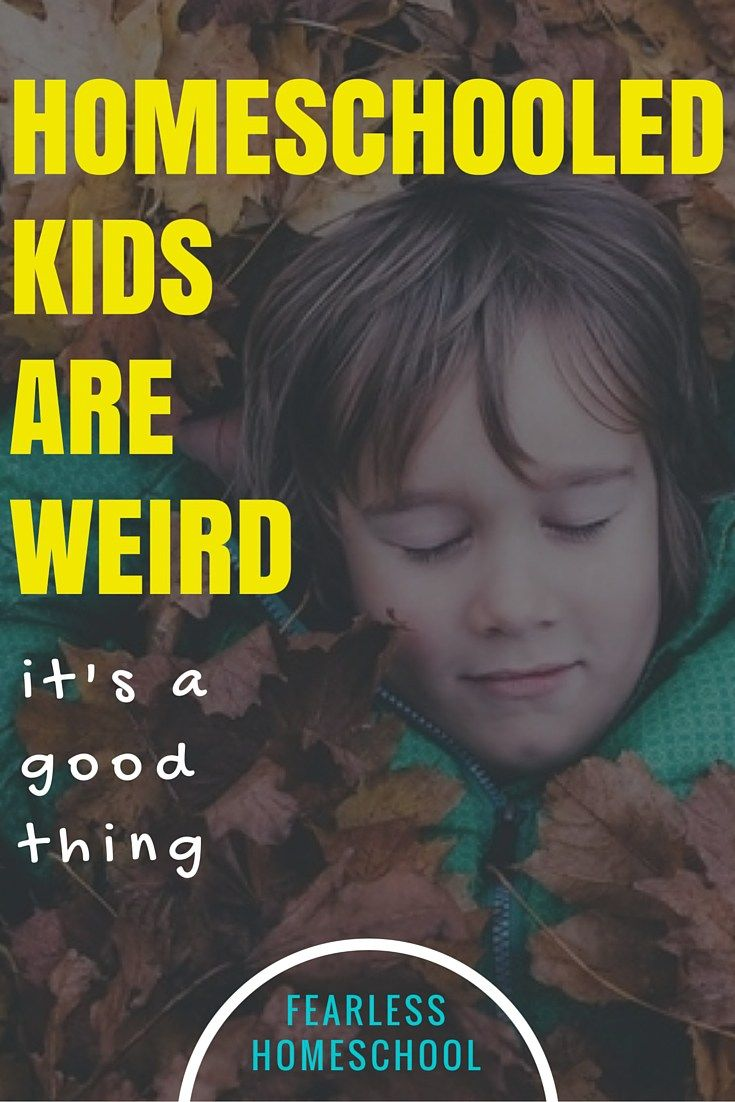 Homeschooled Kids are Weird - and its a good thing. Who wants to be 'normal'?!