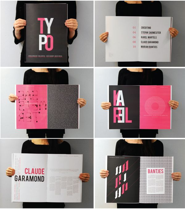 Visual Graphic - Typography Magazine