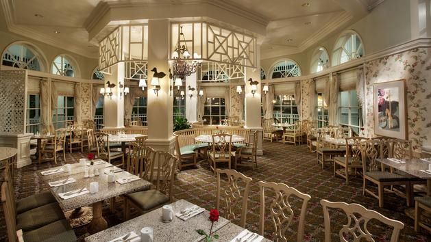 Grand Floridian Cafe This is a sit-down restaurant, but some of the options look really yummy!