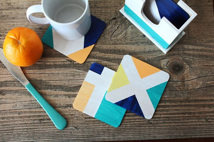 Modern and geometric addition to your table.