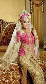 Gaun Pengantin Model Kebaya Muslim Paling Populer