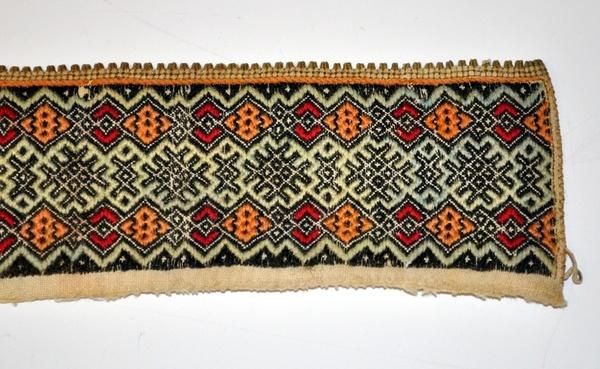 Halskvarde med smøyg, fra Hjartdal i midtre Telemark. I Rikard Berges samlinger siden 1942, nå i Telemark Museum.
