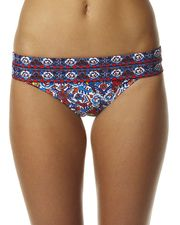 MISS COCOA BORA BORA CONTRAST BANDED HIPSTER SEPARATE PANT - BORA BORA on http://www.surfstitch.com