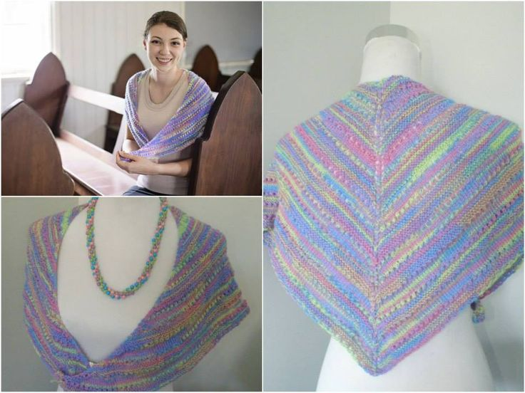 Handmade by Beads 4 Beading Sparrowette Shawlette