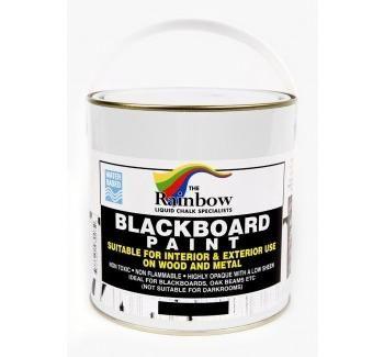 [83007/2.5L]BLACKBOARD PAINT 2.5 LITRE TIN - Rainbow: The Liquid Chalk Specialists